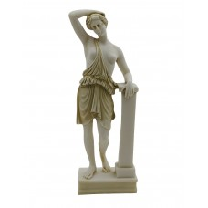 Artemis Diana Greek Goddess Wounded Amazon Statue Sculpture Museum Copy 10.2in - 26cm