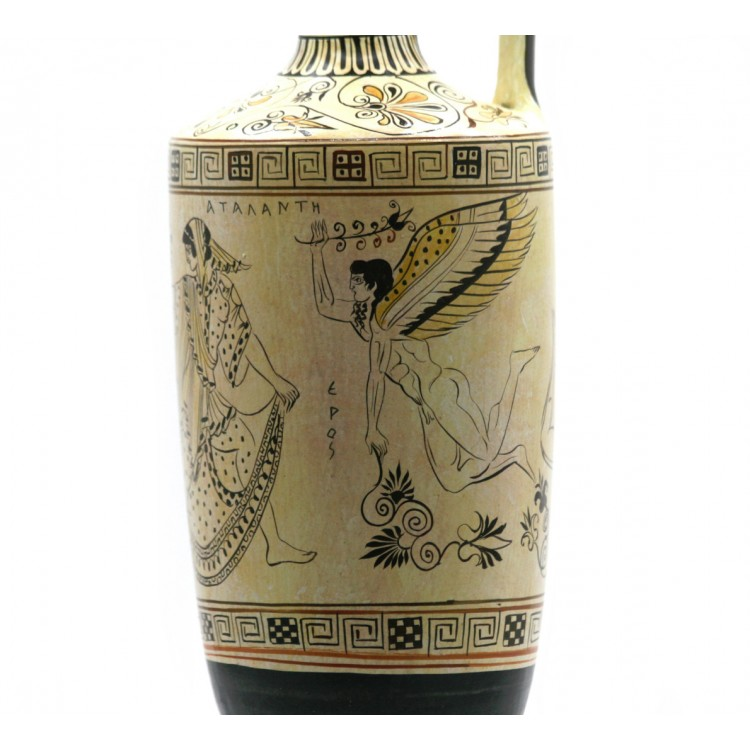 Atalanta Lekythos Eros Gods Of Love Vase Ancient Greek