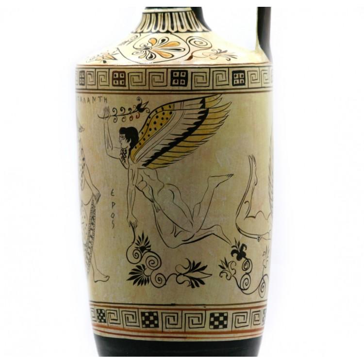 Atalanta Lekythos Eros Gods Of Love Vase Ancient Greek