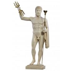 Zeus Jupiter king of gods Greek Roman statue sculpture cast marble ancient Greece