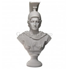 ALEXANDER the GREAT Head Bust Greek Cast Marble Statue Sculpture 14.41inches - 36,6 cm