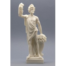 Greek Roman God of Wine & Theatre Dionysus Bacchus Statue Sculpture 9.84 inches - 25 cm