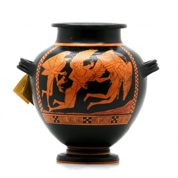 Odysseus Amp Sirens Stamnos Ancient Greek Ceramic Vase Pottery Copy 480 Bce
