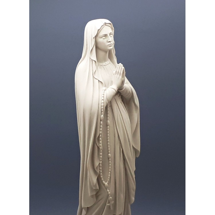 Our Lady Blessed Virgin Mary Greek Cast Marble Statue Sculpture 15.75 inches