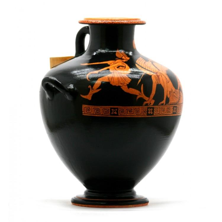 Perseus With Medusa S Head Hydria Vase Athena Ancient Greek Pottery Copy