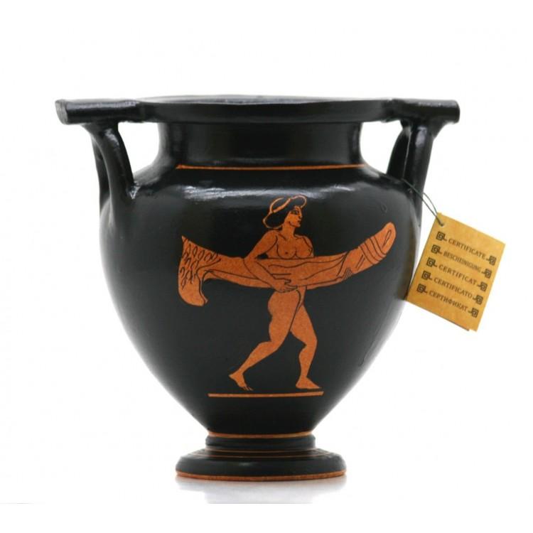 Phallus Krater Ancient Greek Ceramic Vase Pottery Erotic Art Copy 470 Bc