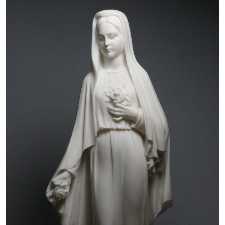 Virgin Mary Mother of JESUS Holy Our Lady Of Rose Madonna Statue Sculpture