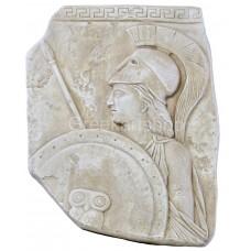 Αthena Minerva Greek Roman  goddess  relief wall decor Sculpture ancient Greece