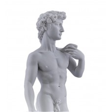 DAVID Michelangelo King Hero Nude Male Greek Statue Sculpture Cast Marble