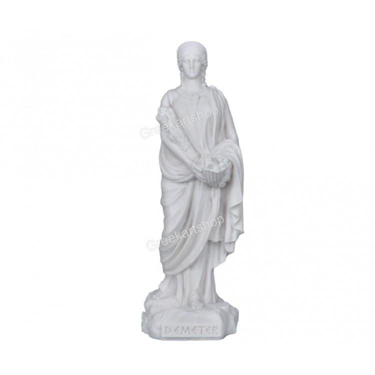 DEMETER Olympian goddess of nature greek sculpture statue figure cast marble