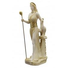 Hera Juno Greek Roman Goddess Queen of Gods Statue Sculpture Figure