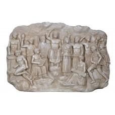 Twelve Olympian Gods Greek Roman Pantheon Relif Sculpture wall decor