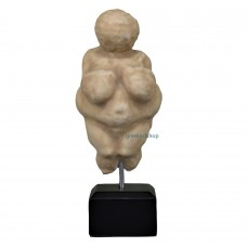 Venus of Willendorf figurine paleolithic sculpture mother goddess fertility woman female copy