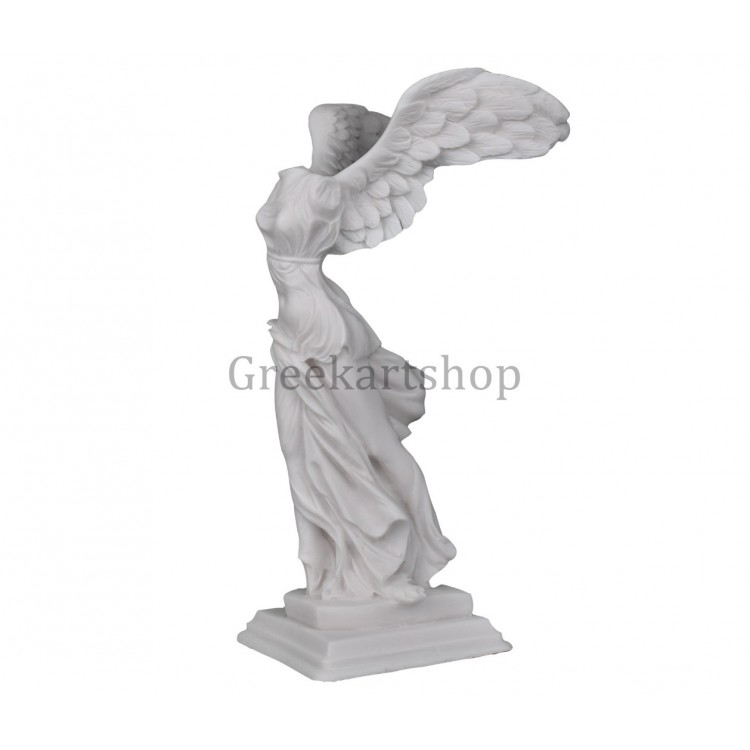 winged nike of samothrace victory Louvre museum greek statue sculpture cast marble 11.6 inches