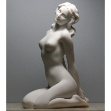 Nude Naked Woman Sexy Female Erotic Art Cast Marble Figure Statue Sculpture 7.87in