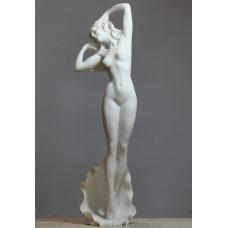 Large Goddess APHRODITE Nude Female Erotic Art Cast Marble Statue Sculpture 17 inches