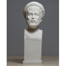 Pythagoras Philosopher Mathematician Scientist Bust Statue Sculpture 6.3΄΄