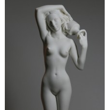 Large Nude Naked Female Woman Girl Cast Marble Statue Sculpture Erotic Art 15.6΄΄