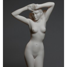Nude Woman Cast Marble Statue Naked Female Erotic Greek Ancient Art Sculpture