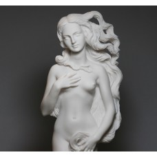 Large Goddess APHRODITE Birth of Venus Rising Nude Female Cast Marble Statue Sculpture