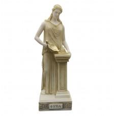 Hestia Vesta Statue Goddess of Home & Family Sculpture Figure Handmade 10.24 inches
