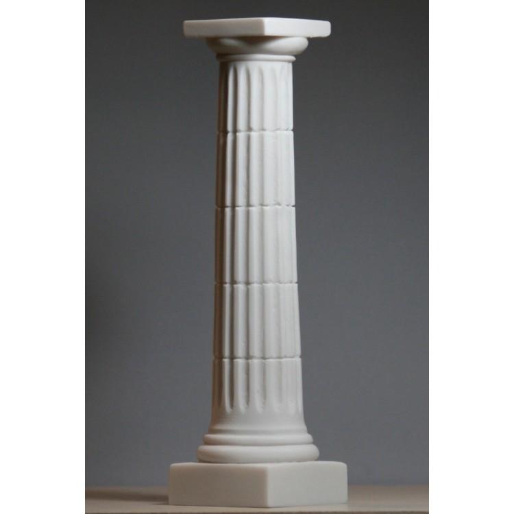 Greek Column Doric Order Parthenon Pillar Architecture Decor Sculpture 9.84 inches