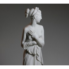 Large Goddess Aphrodite Venus Canova Erotic Nude Female Cast Marble Statue Sculpture