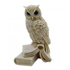 Owl of Goddess Athena symbol of Wisdom & Education Greek Statue Sculpture