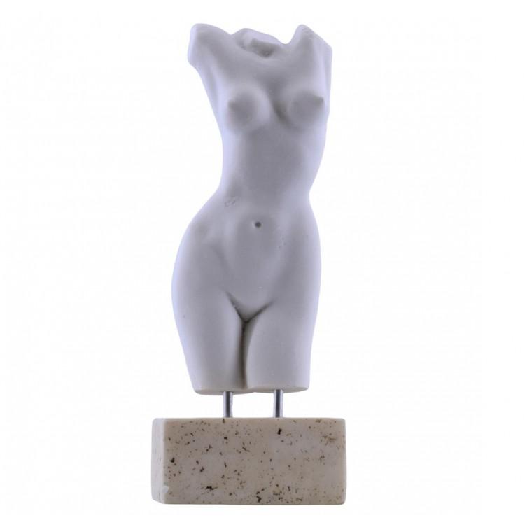 Female Body Woman Torso Erotic Nude Art Sexy Greek Statue Sculpture 8.5 inches