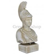 Athena Minerva Greek Goddess Bust Head Statue Sculpture Casting Stone