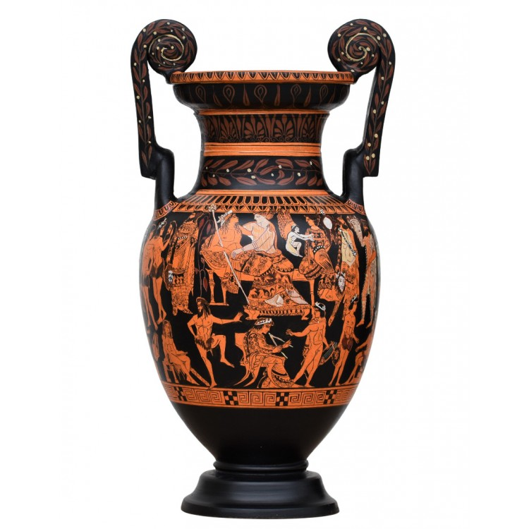 Pronomos Vase Krater Ancient Theater Greek Pottery Ceramic Greece