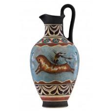 Bull Leaping Fresco Minoan Dolphins Knossos Vase Ancient Greek Pottery Ceramic