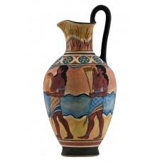 Cup Bearer Minoan Fresco Octopus Knossos Vase Ancient Greek Pottery Ceramic