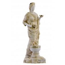 Hestia Vesta Statue Goddess of Home & Family Greek Statue Sculpture Figure